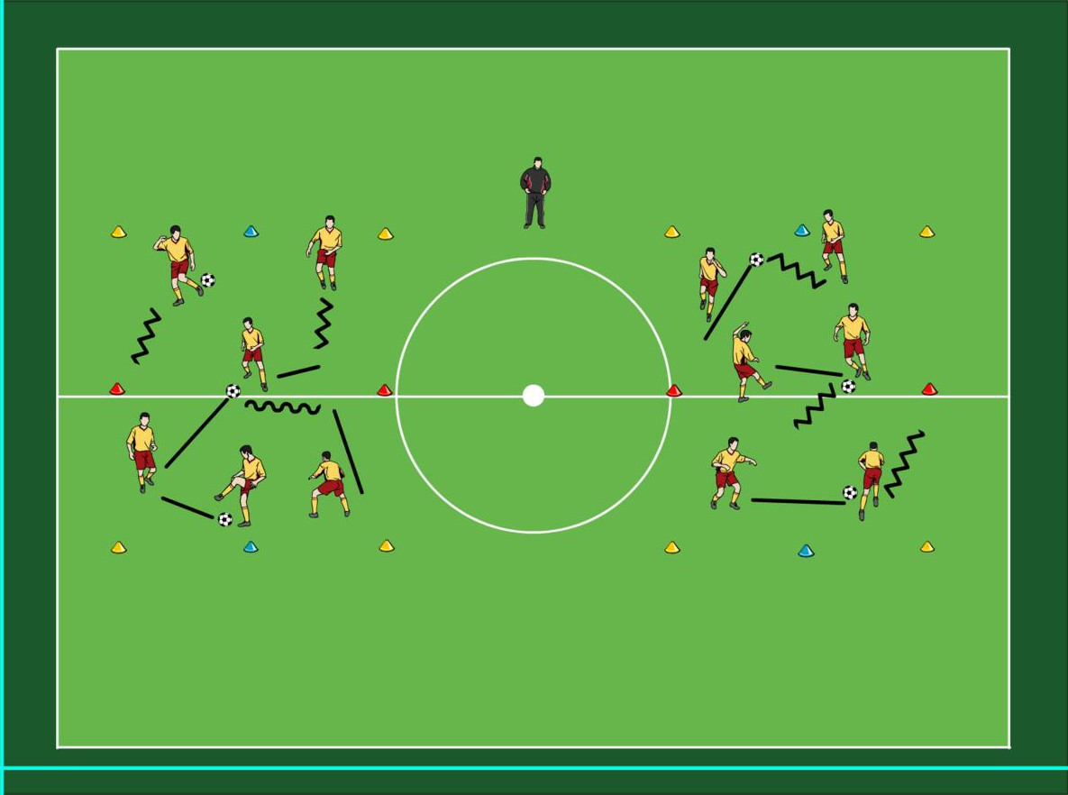 BVB Training vor dem Spiel gegen SC Freiburg