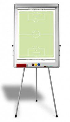 Trainingshilfen - Taktikboard (für Einsatz auf dem Platz)