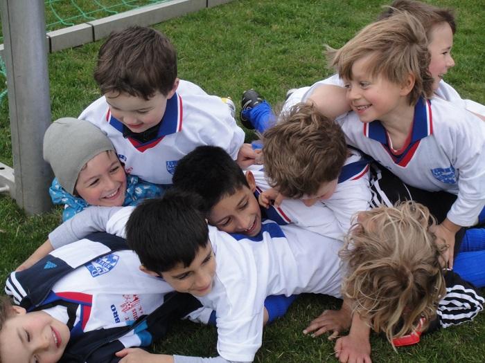 Kinderfußball muss angstfrei Spaß und Spannung vermitteln (Foto: Lothar Tepel)