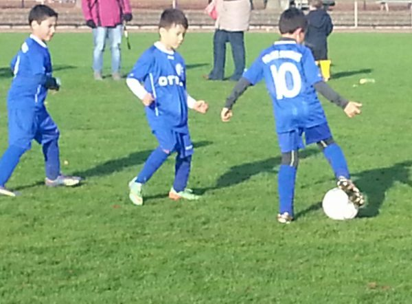 Kleine Fußballer wollen gut betreut werden!