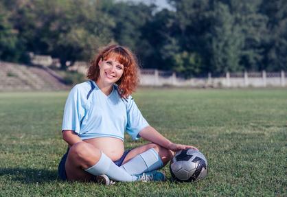Fußball während und nach der Schwangerschaft?
