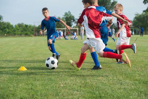 Spielform im Kindertraining