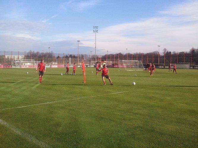 Vorbereitung gegen Bremen