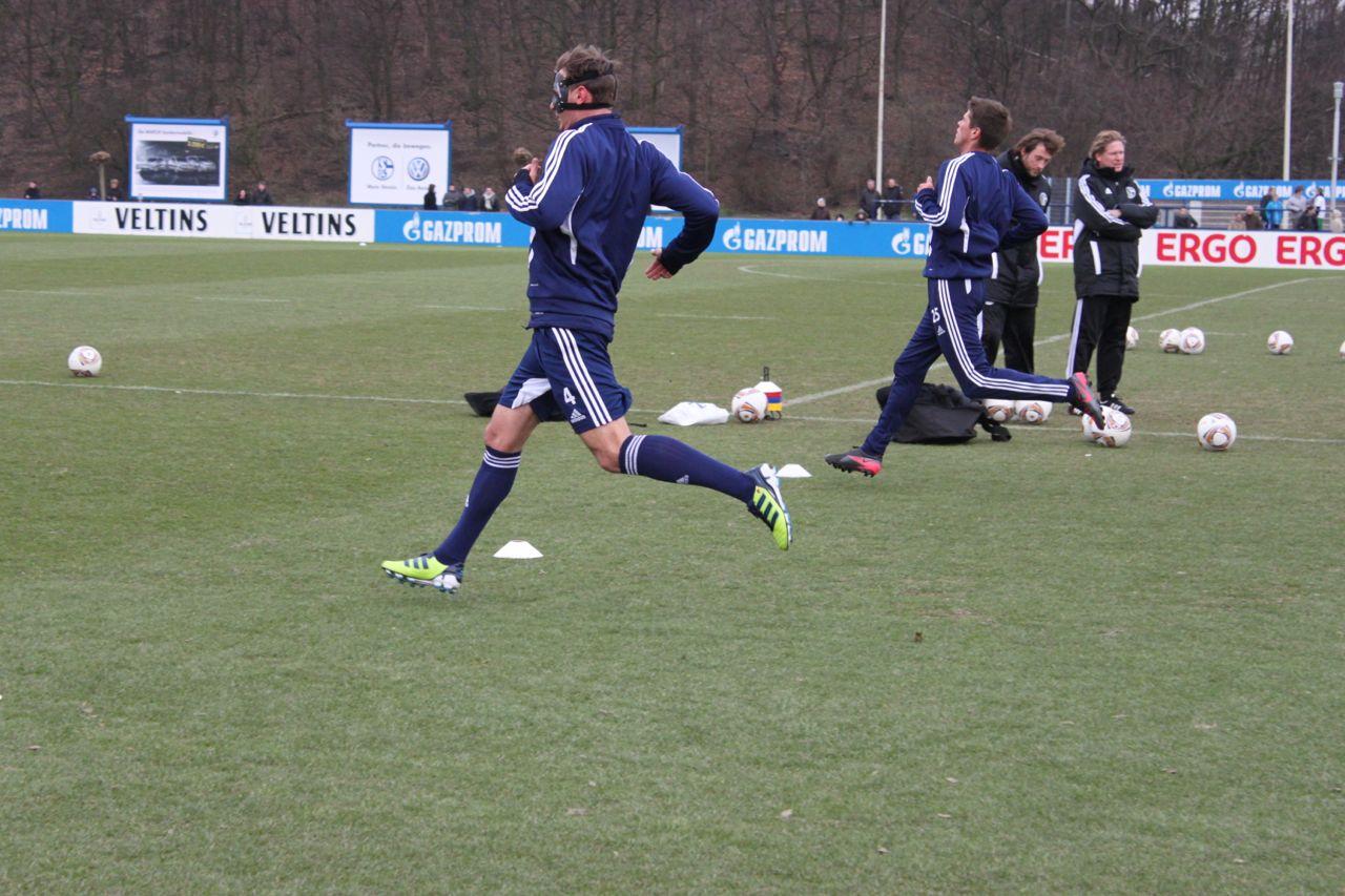 Vorbereitung gegen Dortmund