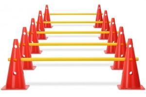 Trainingshilfen - Kegelhürden