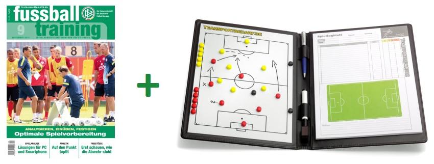 fussballtraining Zeitschrift mit Prämie
