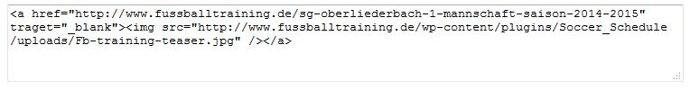 html code einbindung