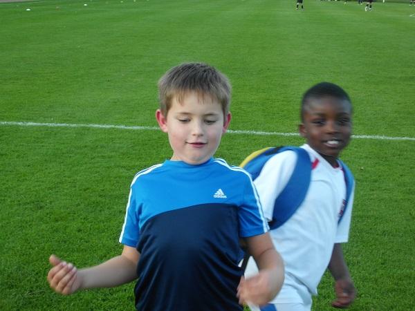 Als Trainer muss ich meinen Jungs eine breite Brust beibringen! (Foto: Uwe Jansen)