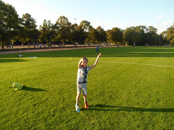 Kinder müssen Spaß am Fußball haben! (Foto: Uwe Jansen)