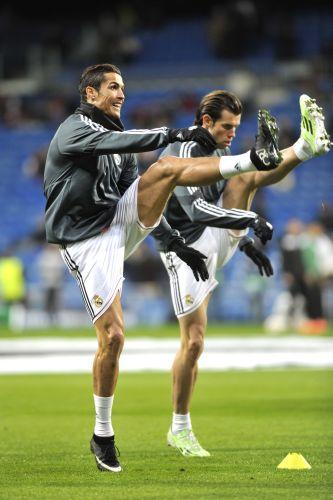 Ronaldo Bale dynamisch dehnen