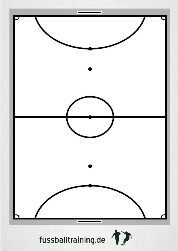 Futsal Spielfeld