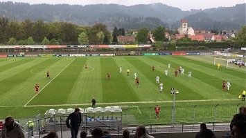 Freiburg II: Spielaufbau im 3-5-2
