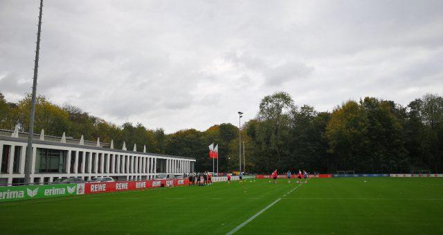 Warum die Kölner im Training rückwärts laufen?