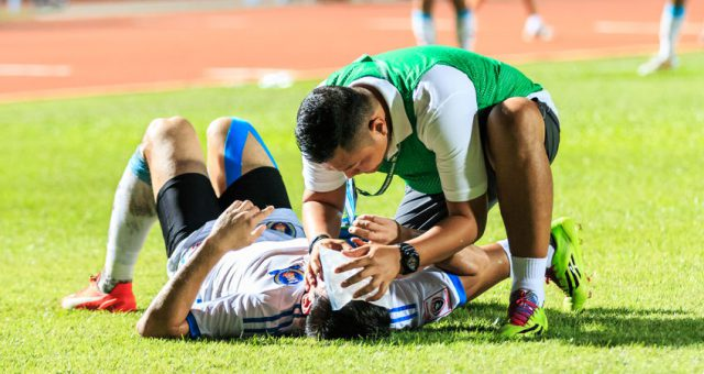 Erste-Hilfe bei Trainingsunfällen