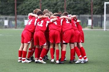 Mannschaft im Fußball