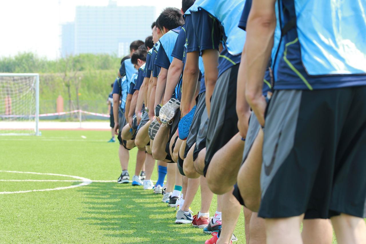 abwechlungsreiches Fußballtraining