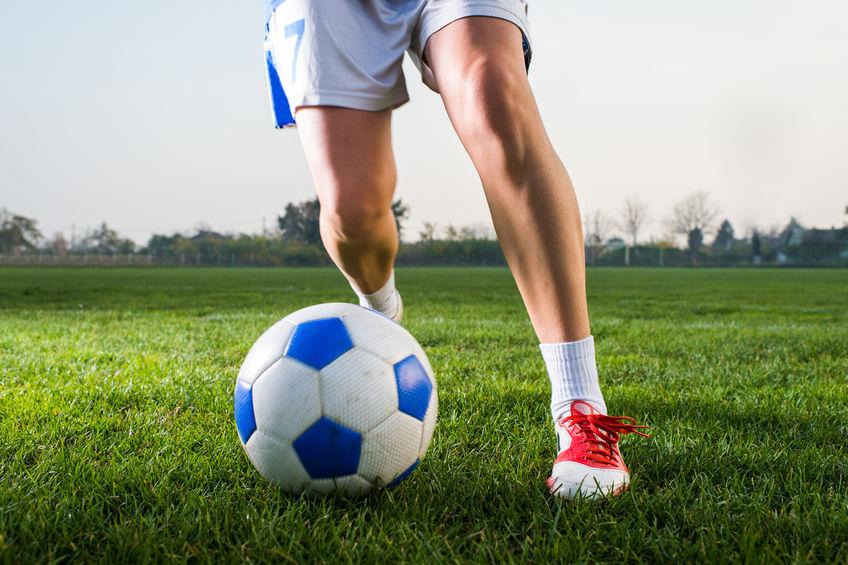 Antrittsschnelligkeit im Fußball trainineren