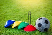 Trainingszubehör im Fußball
