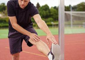 Muskelkrampf im Fussball