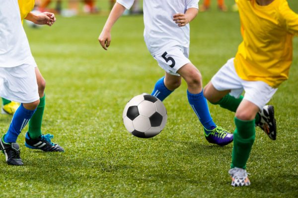Defensivtaktik auch im Kinderfussball (Funino)
