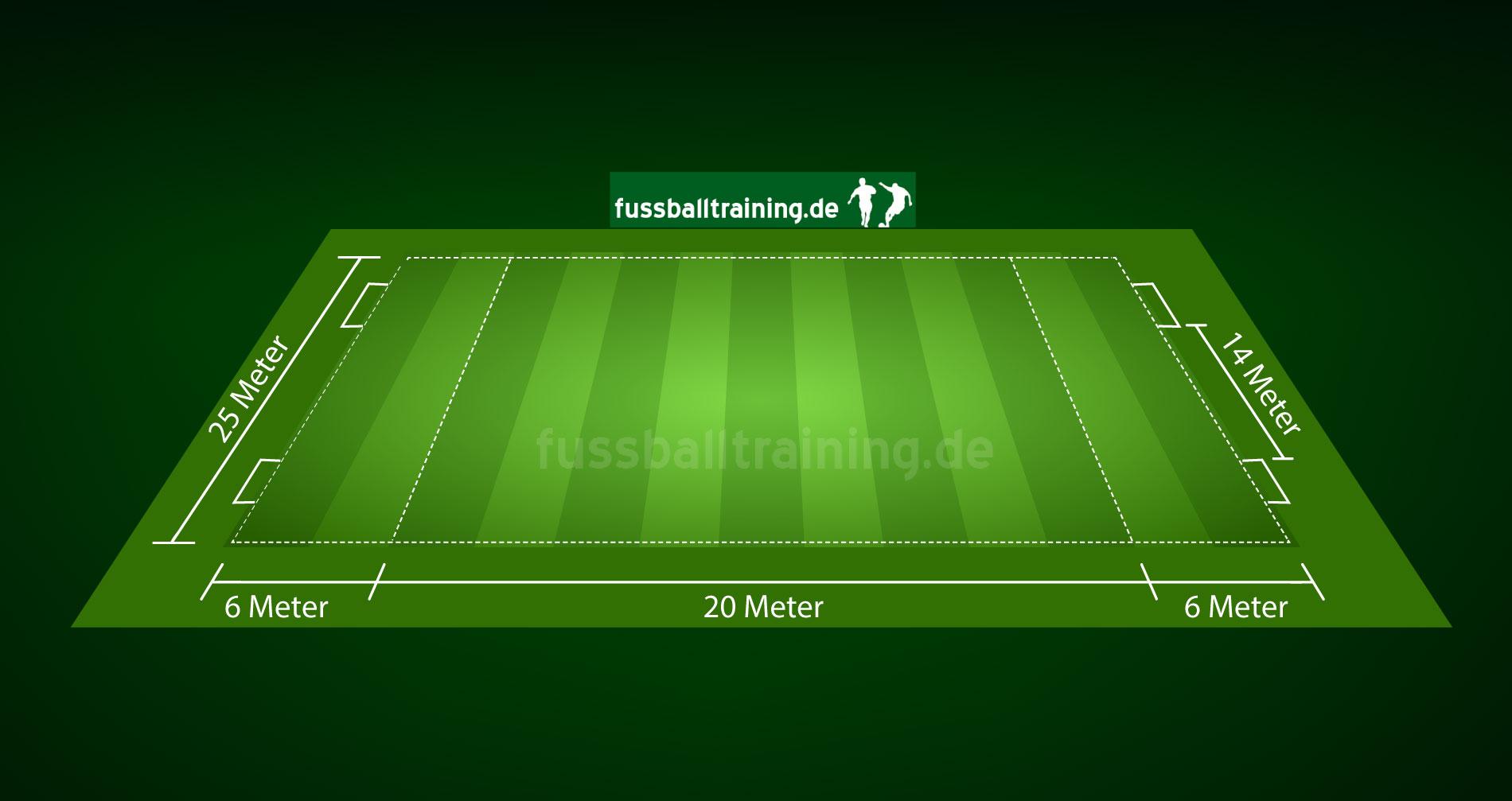 Spielfeld Funino Kinderfussball