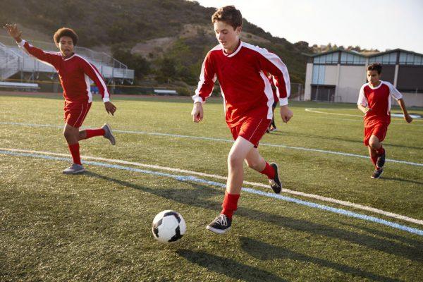 Übersteiger im Fussball - so gehts!