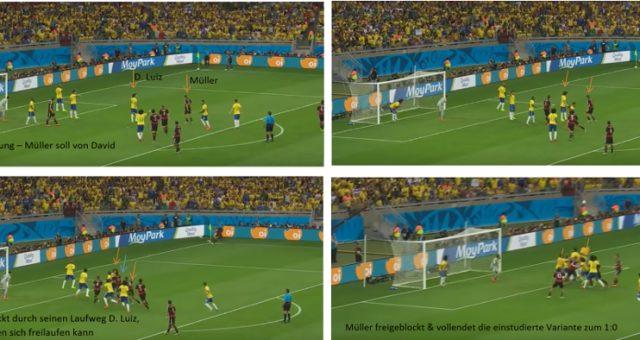 Taktikreport Fußball-Klassiker: WM-Halbfinale 2014 – Brasilien gegen Deutschland