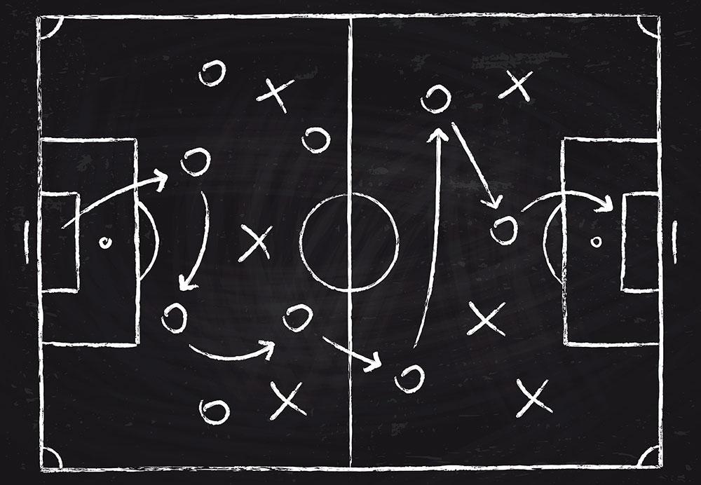 das beste Spielsystem im Fussball