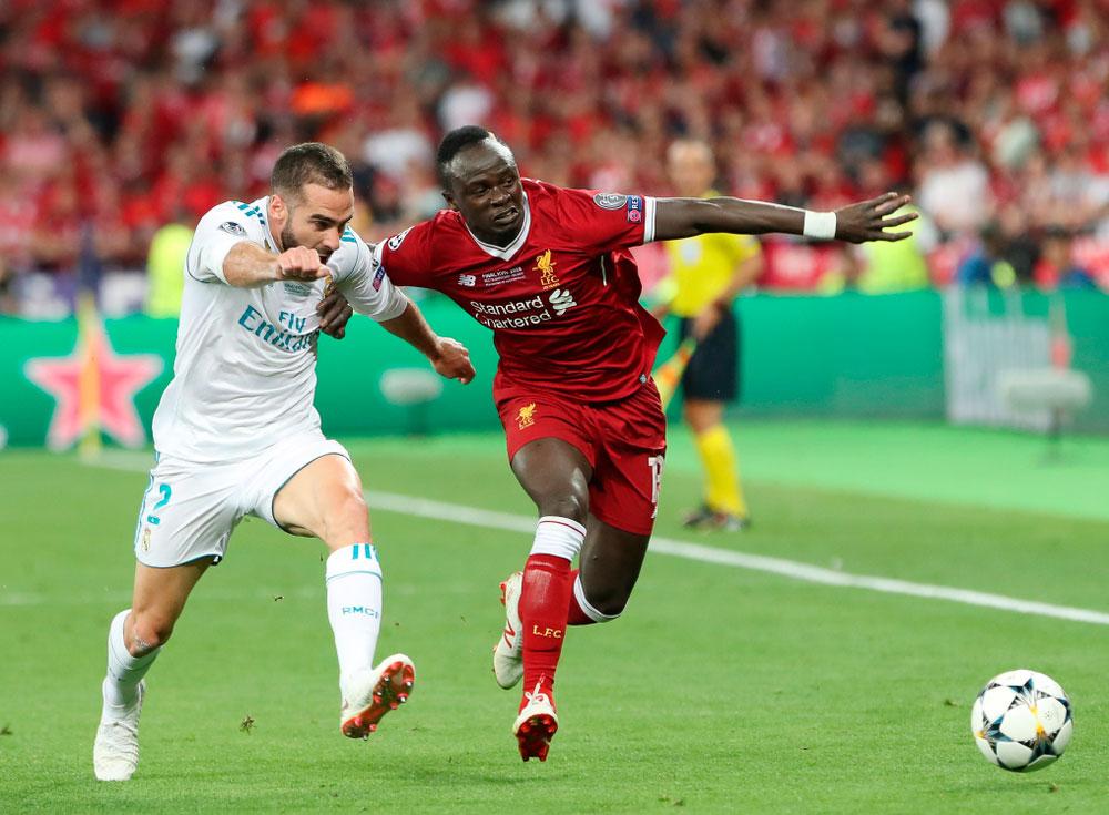 Liverpool Flanken und Eingaben - Sadio Mané