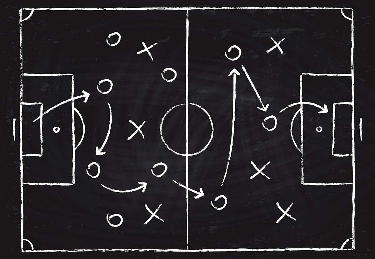 Analyse Taktik Fußball