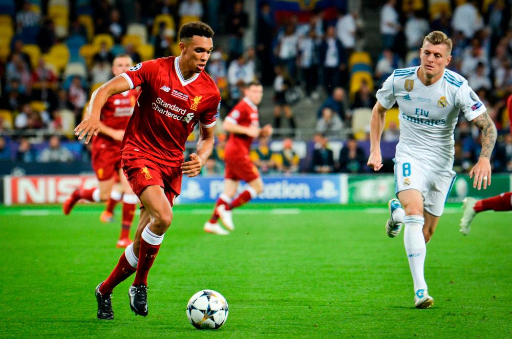 Trent Alexander Arnold Außenverteidiger FC Liverpool