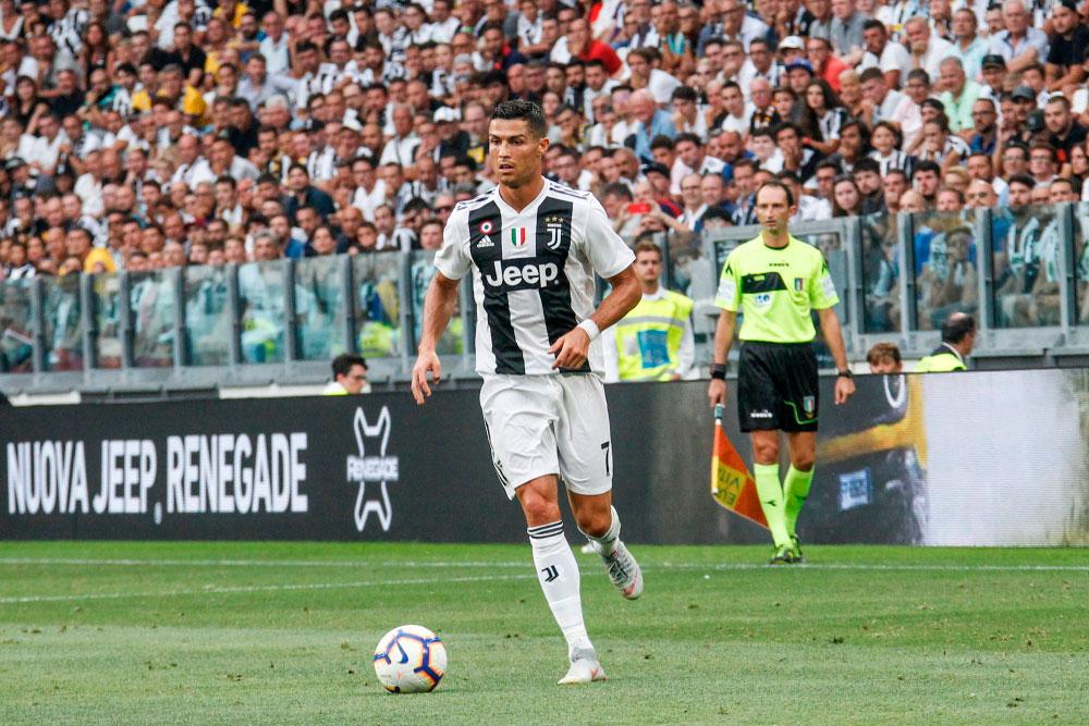 Christiano Ronaldo Flügelspieler Juventus Turin