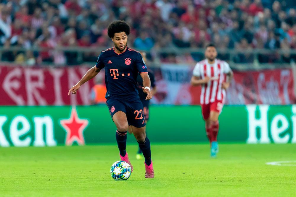 Serge Gnabry - Flügelspieler FC Bayern München