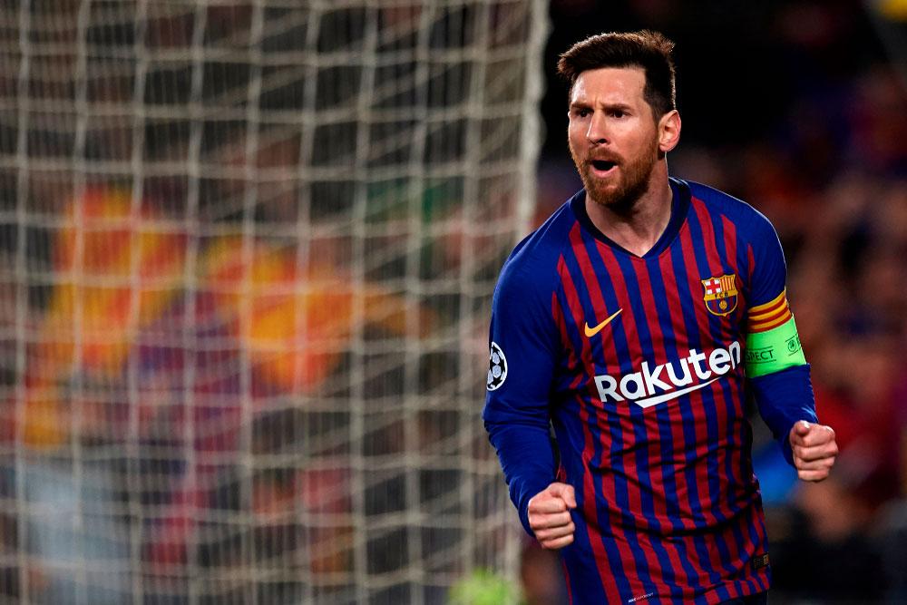 Lionel Messi FC Barcelona Fussball