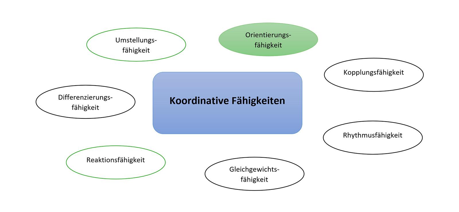 Orientierungsfähigkeit - koordinative Fähigkeiten