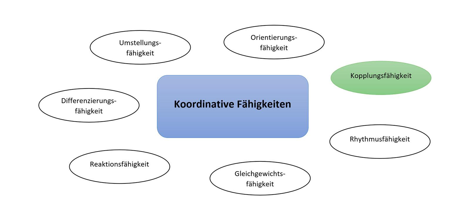 Die Kopplungsfähigkeit - koordinative Fähigkeiten im Überblick