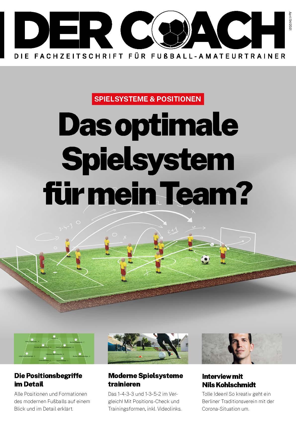Der Coach - das neue Online-Fußballtrainermagazin