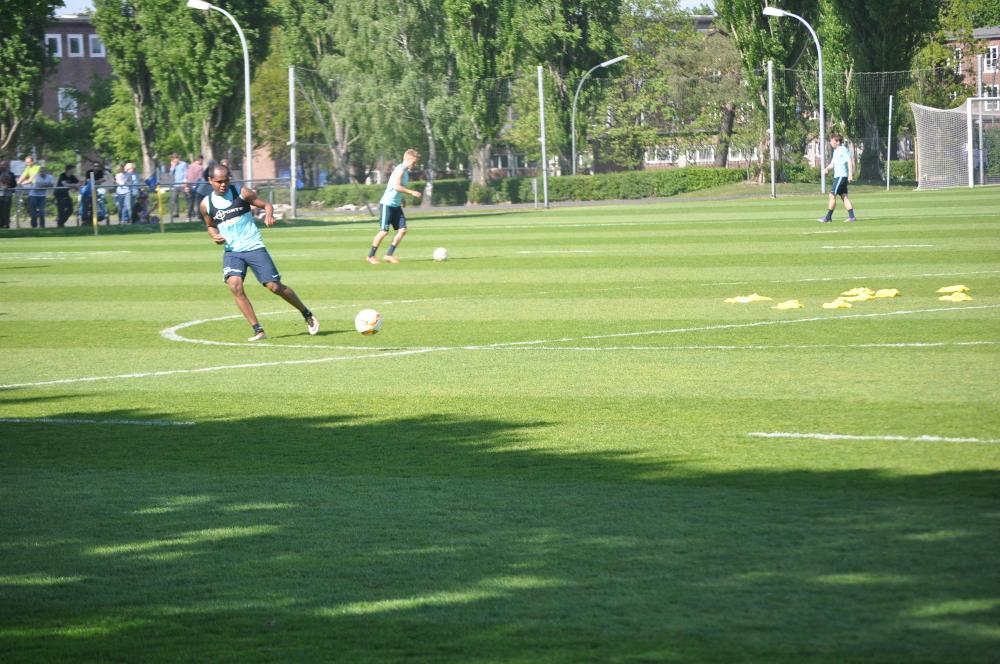 Training in kleinen Gruppen Hertha BSC