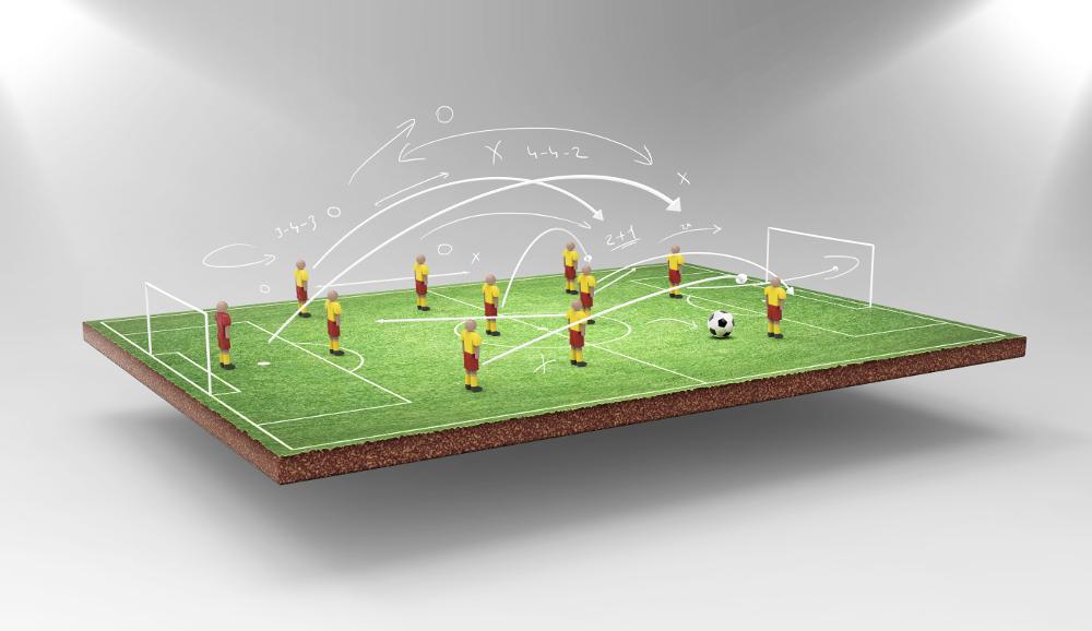 Fussballtraining: Positionen und Spielsysteme erklären