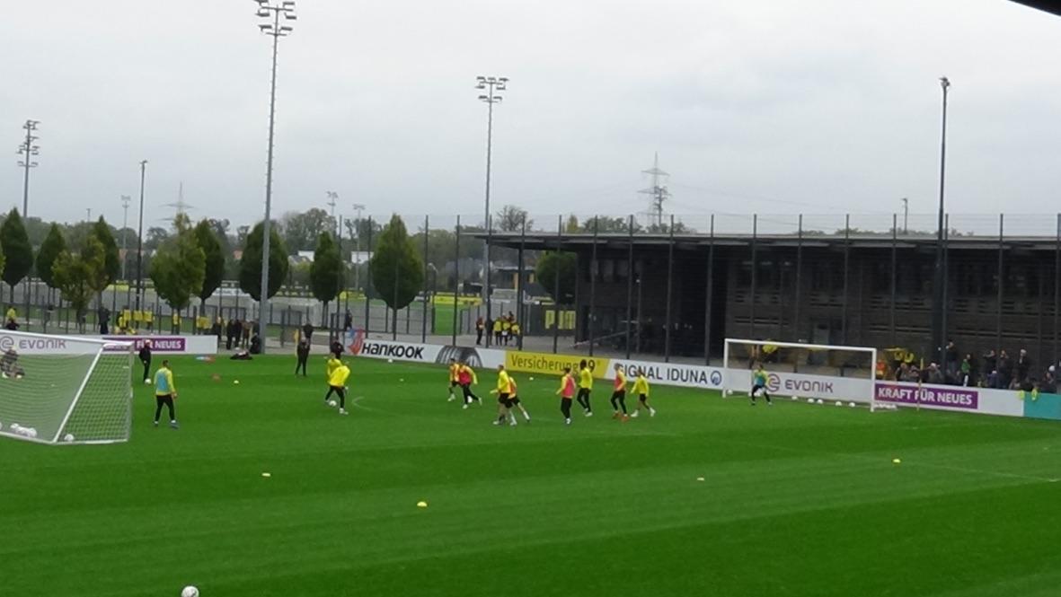 Passspiele bei Borussia Dortmund